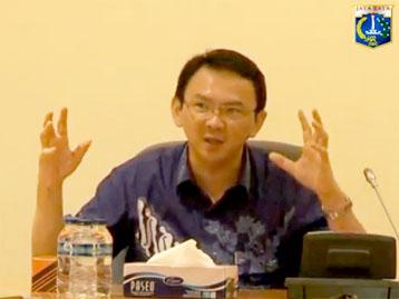 Video Wagub Menerima Paparan Transjakarta